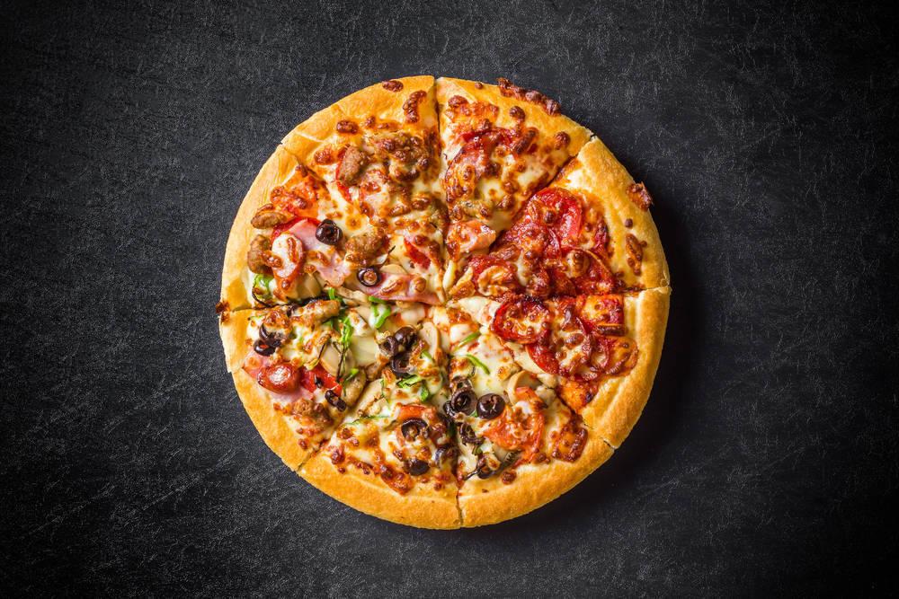 El placer de una buena pizza